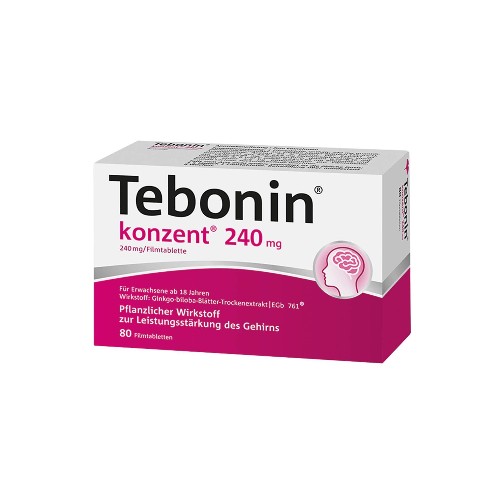 Tebonin konzent 240 mg , 80 St