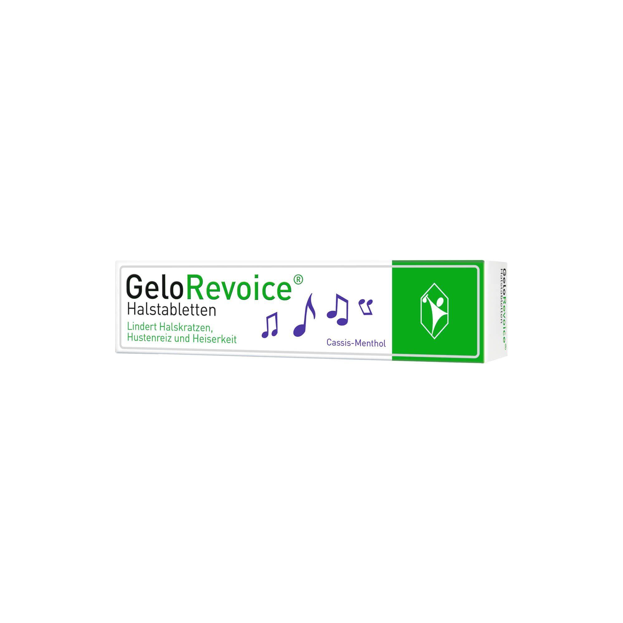 GeloRevoice Halstabletten Cassis-Menthol, 20 St