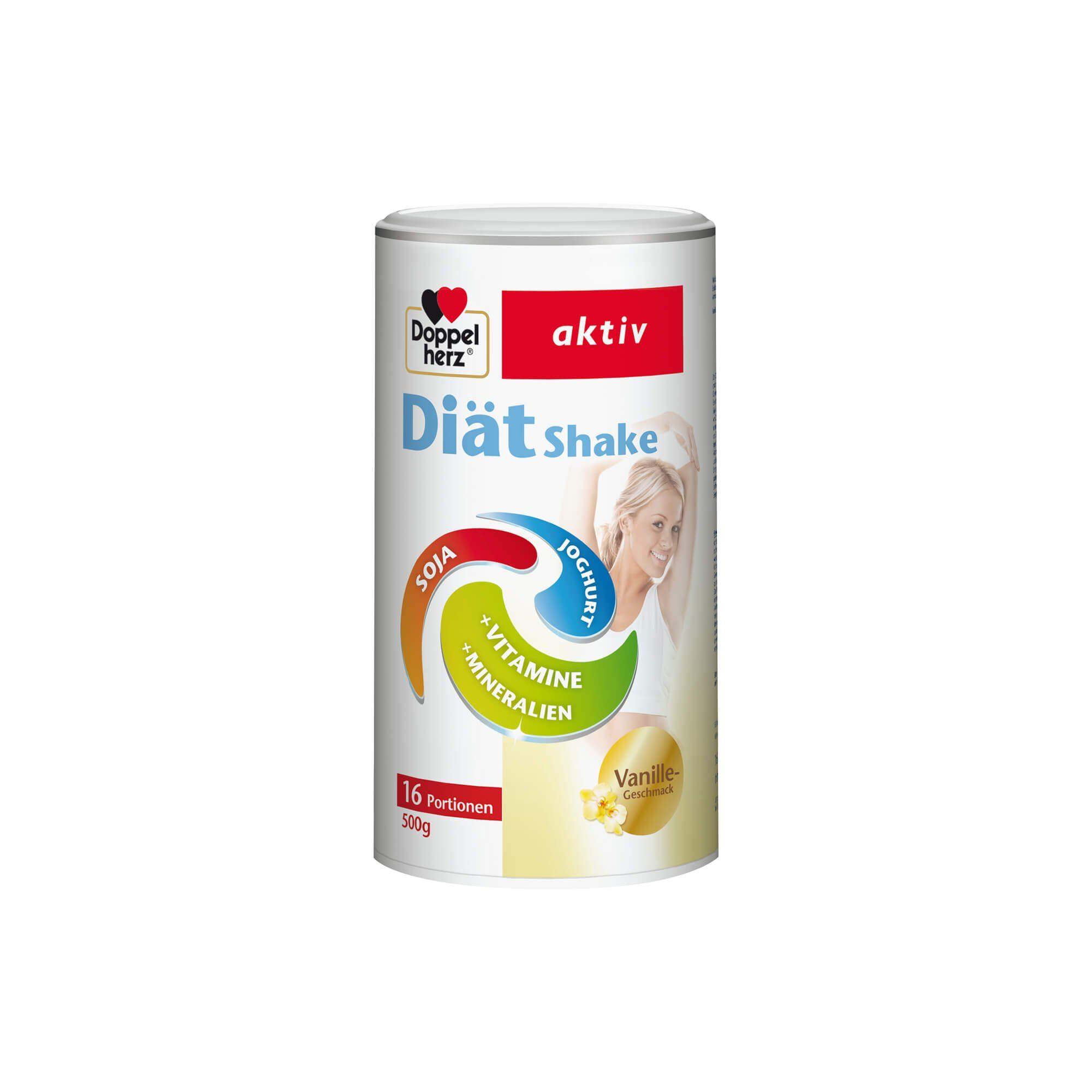 Doppelherz aktiv Diätshake Vanille , 500 g