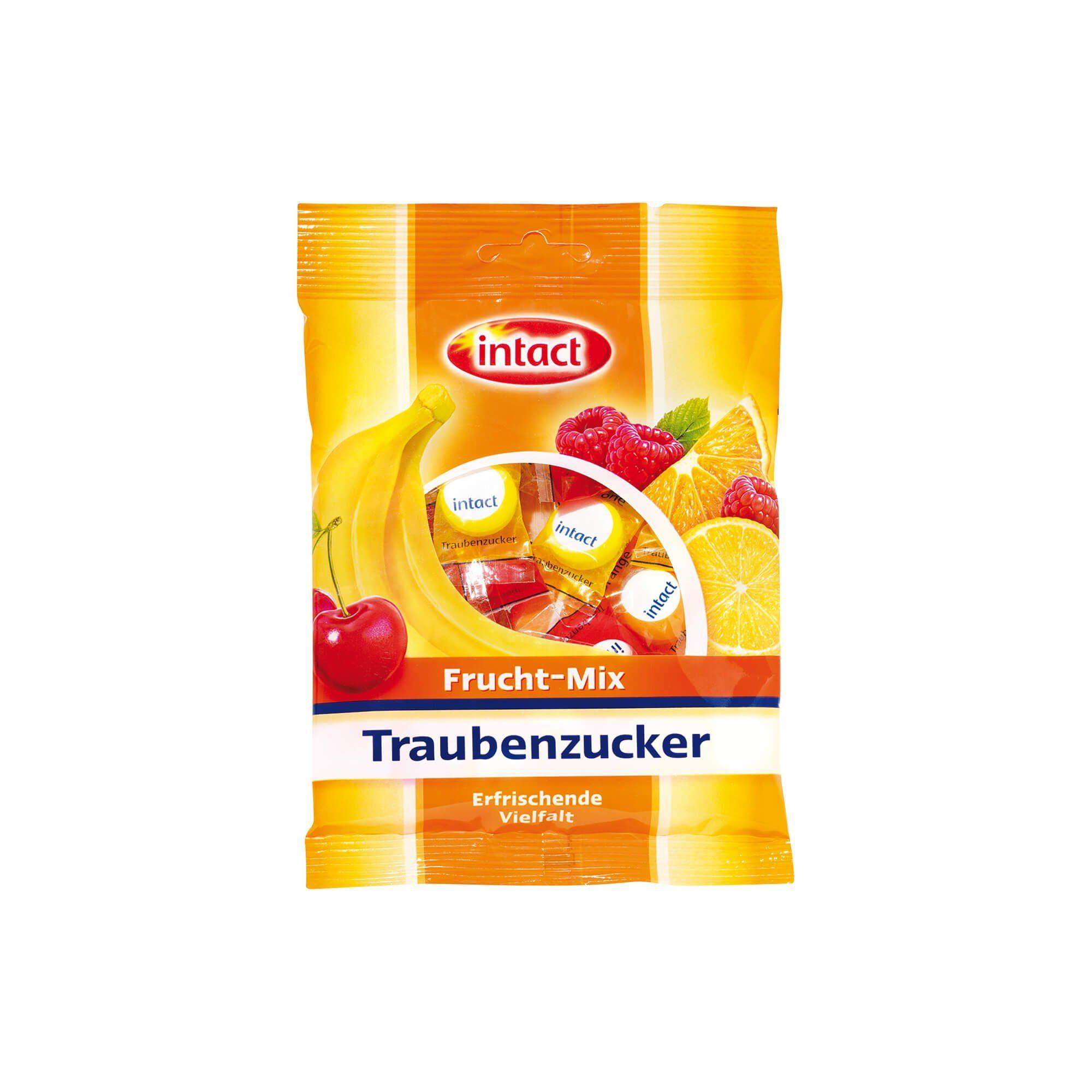 Intact Traubenzucker Frucht Mix, 75 g