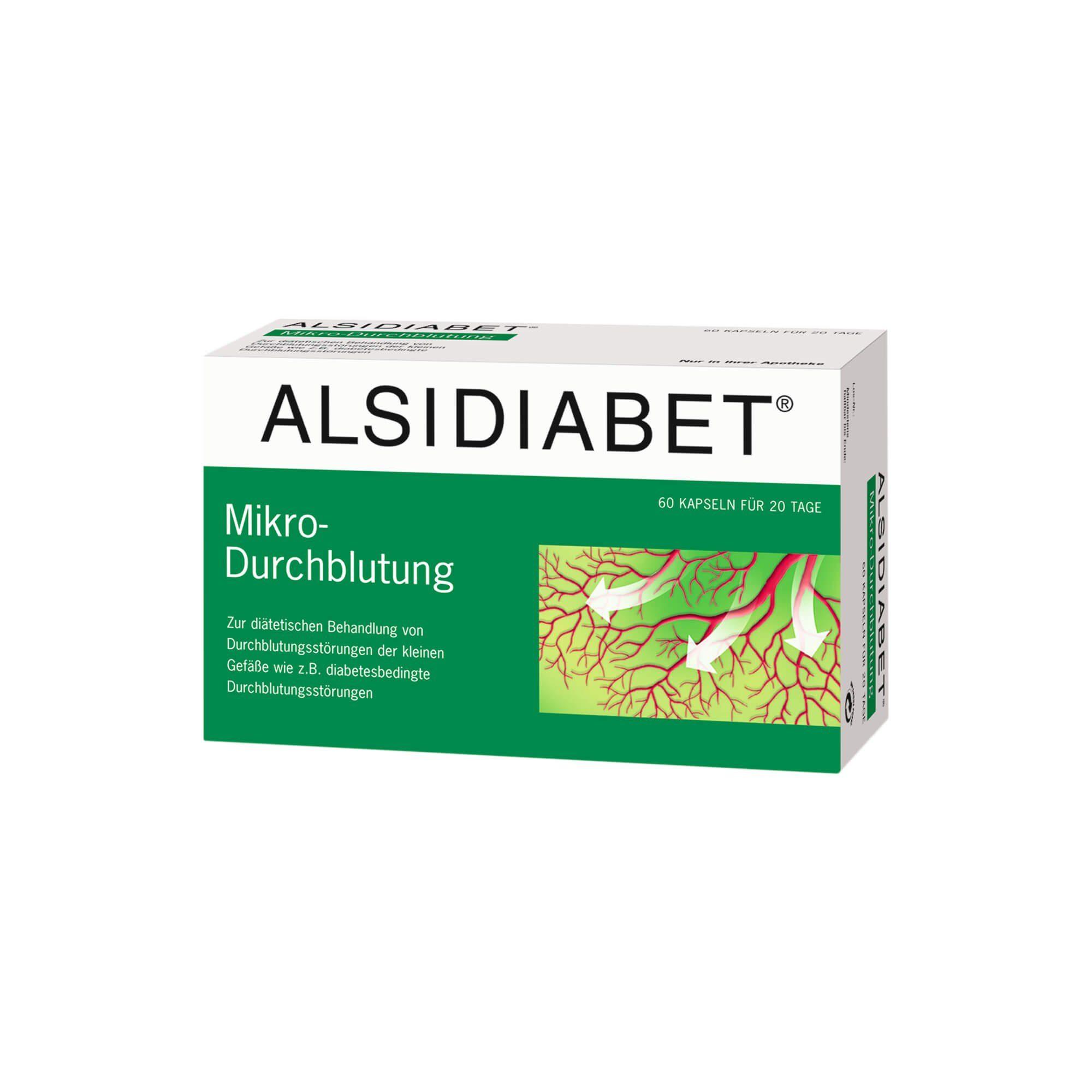 Alsidiabet Mikro-Durchblutung (, 60 St)