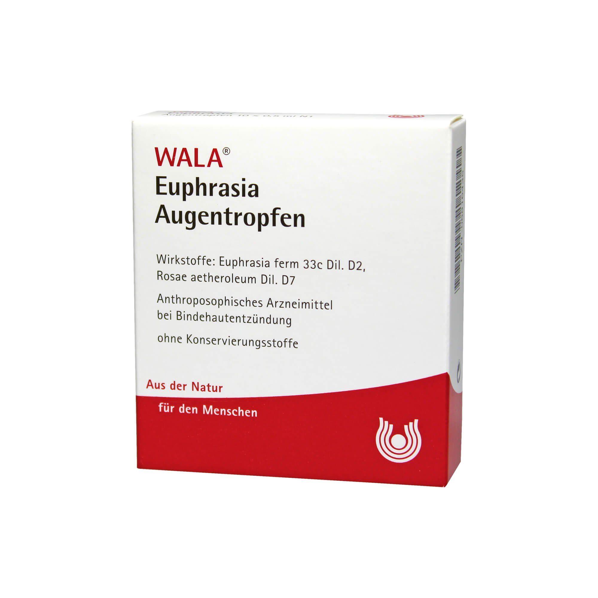 Euphrasia Augentropfen, 10X0.5 ml