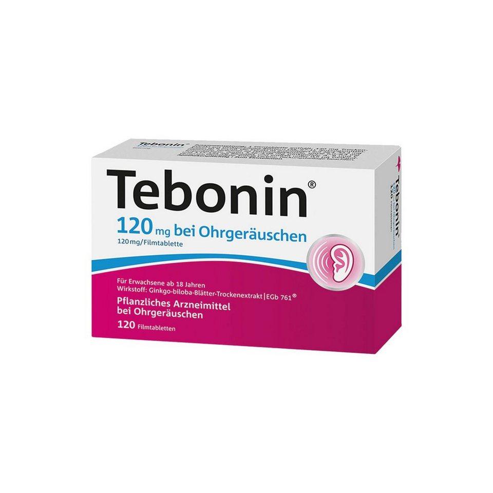 Tebonin 120 Mg Bei Ohrgeräuschen Filmtabletten, 120 St