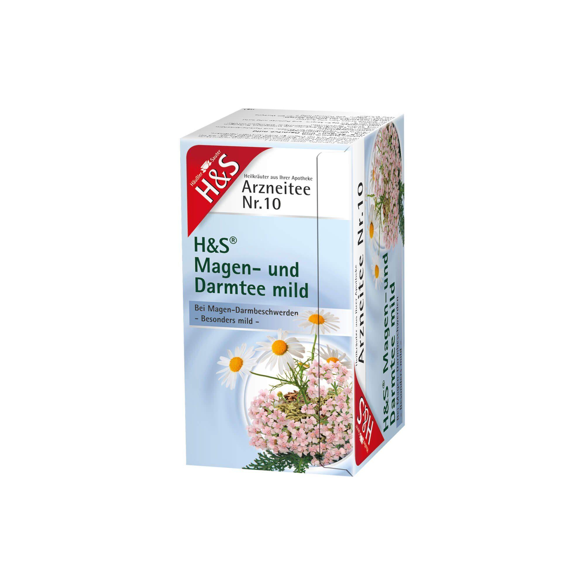 H&S Magen- und Darmtee mild, 20 St