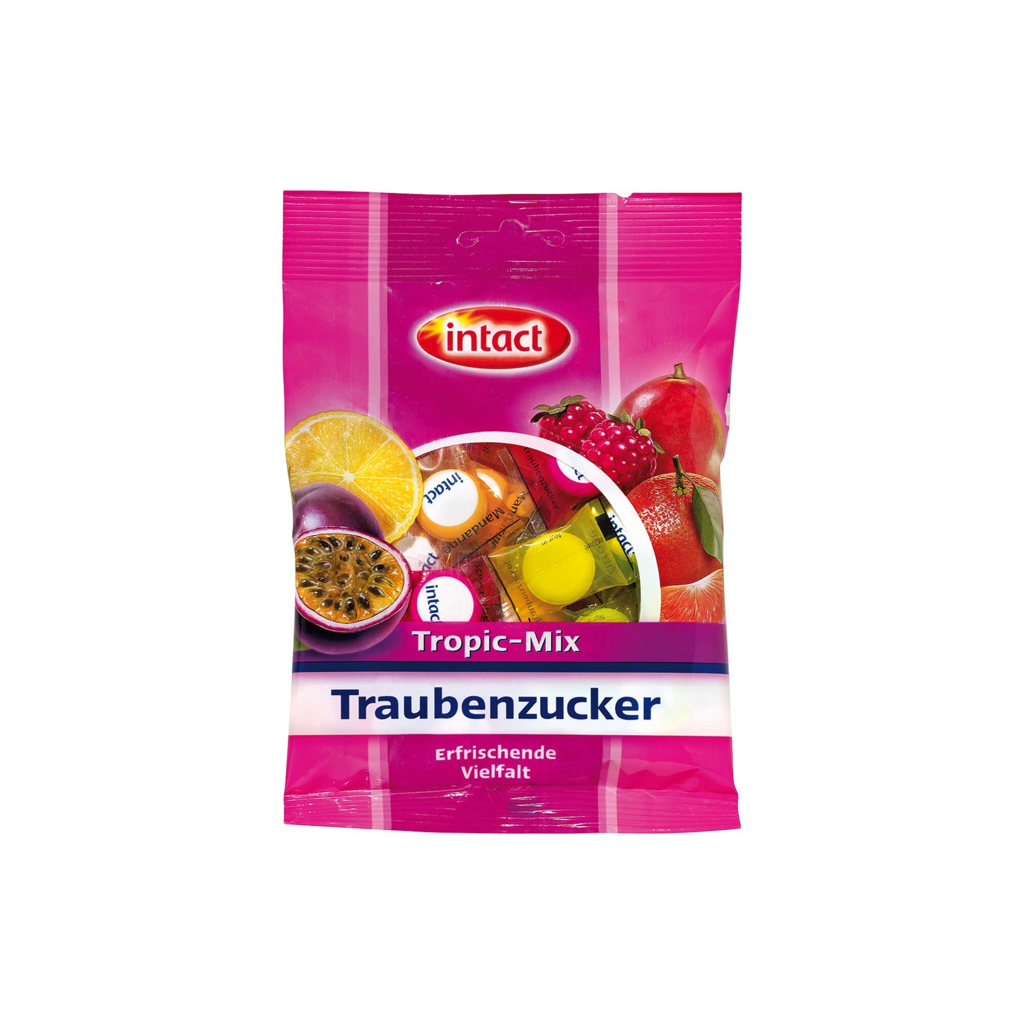 Intact Traubenzucker Tropic Mix, 75 g