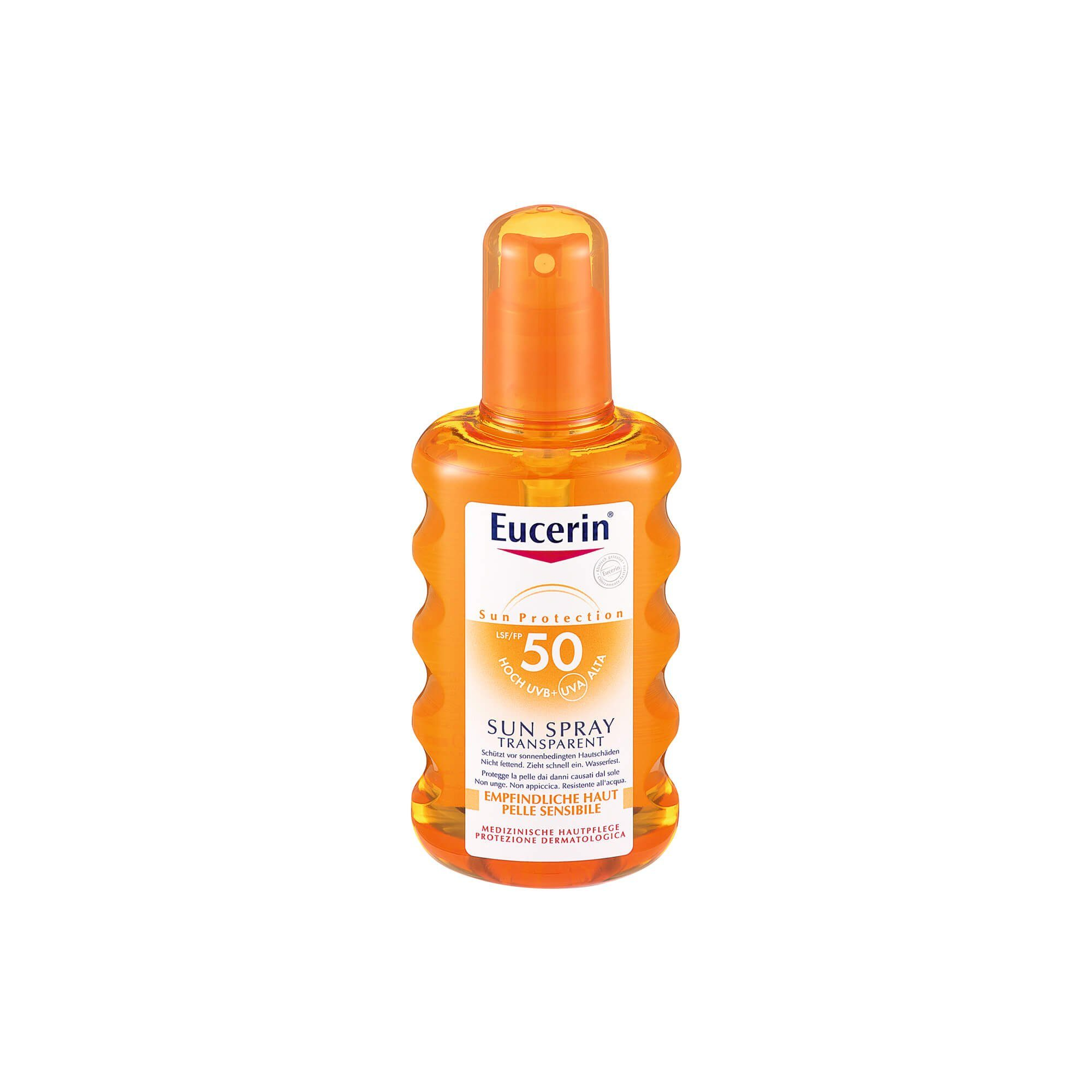 Eucerin Sun Transparent Spray LSF 50 , 200 ml