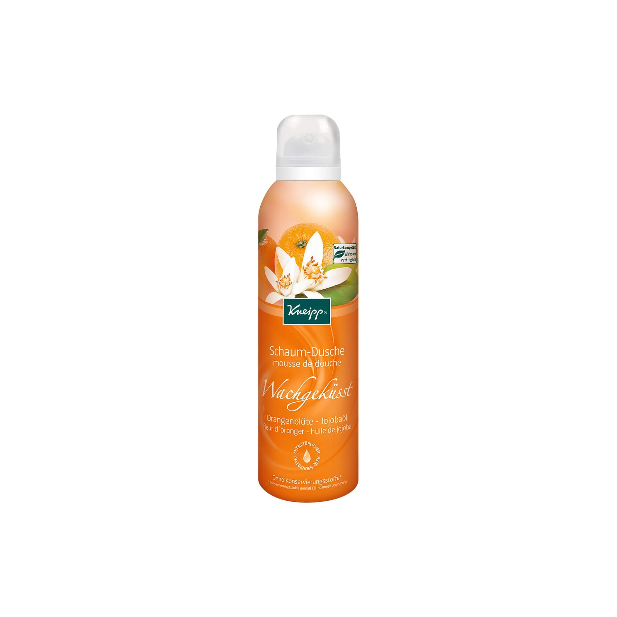 Kneipp Schaum-Dusche Wachgeküsst, 200 ml