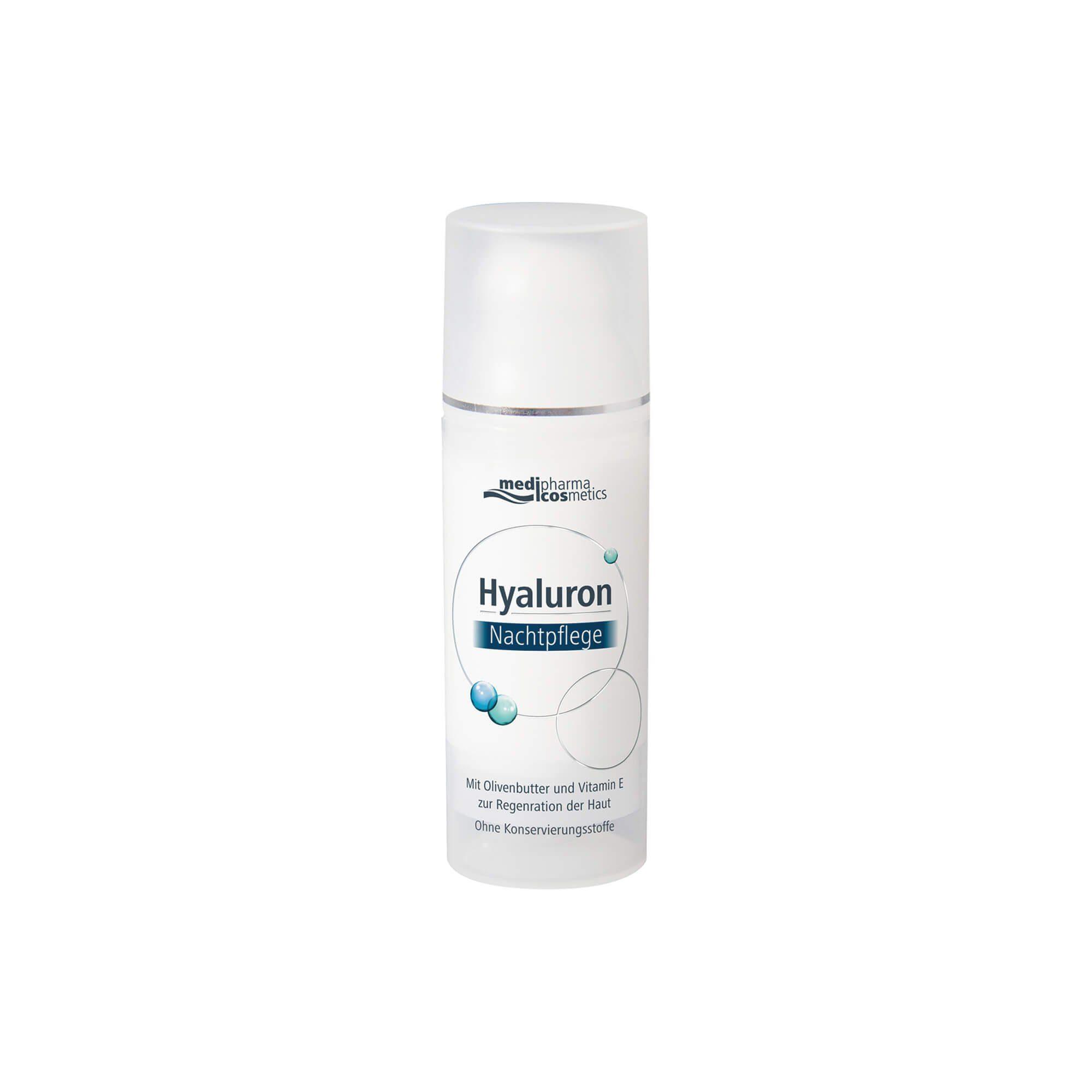 Hyaluron Nachtpflege Creme , 50 ml