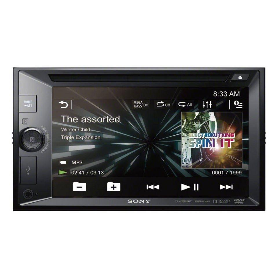Sony 2-DIN-DVD-Receiver »XAV-W650BT« in schwarz