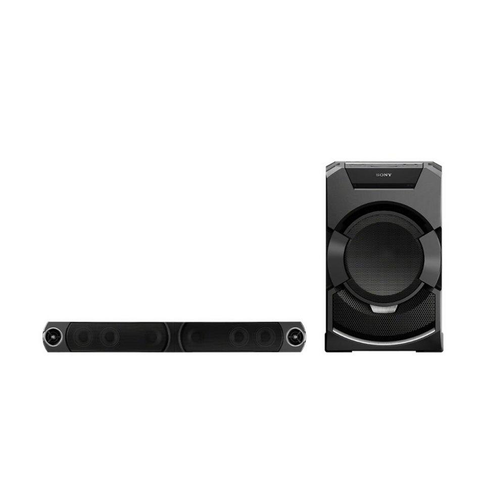 Sony Audiosystem »MHC-GT5D« in schwarz