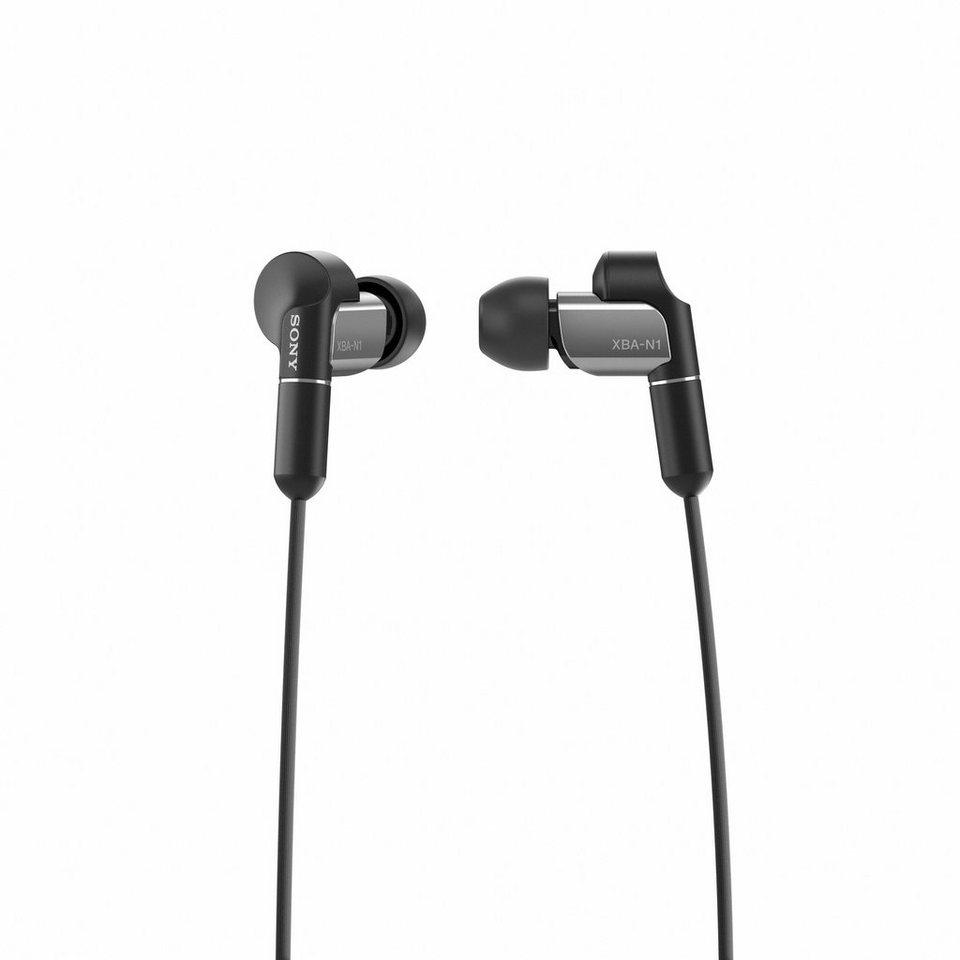 Sony InEar Kopfhörer »XBA-N1AP« in grau