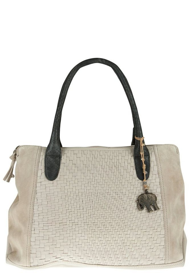 ANOKHI Shopper »COCO« in sand