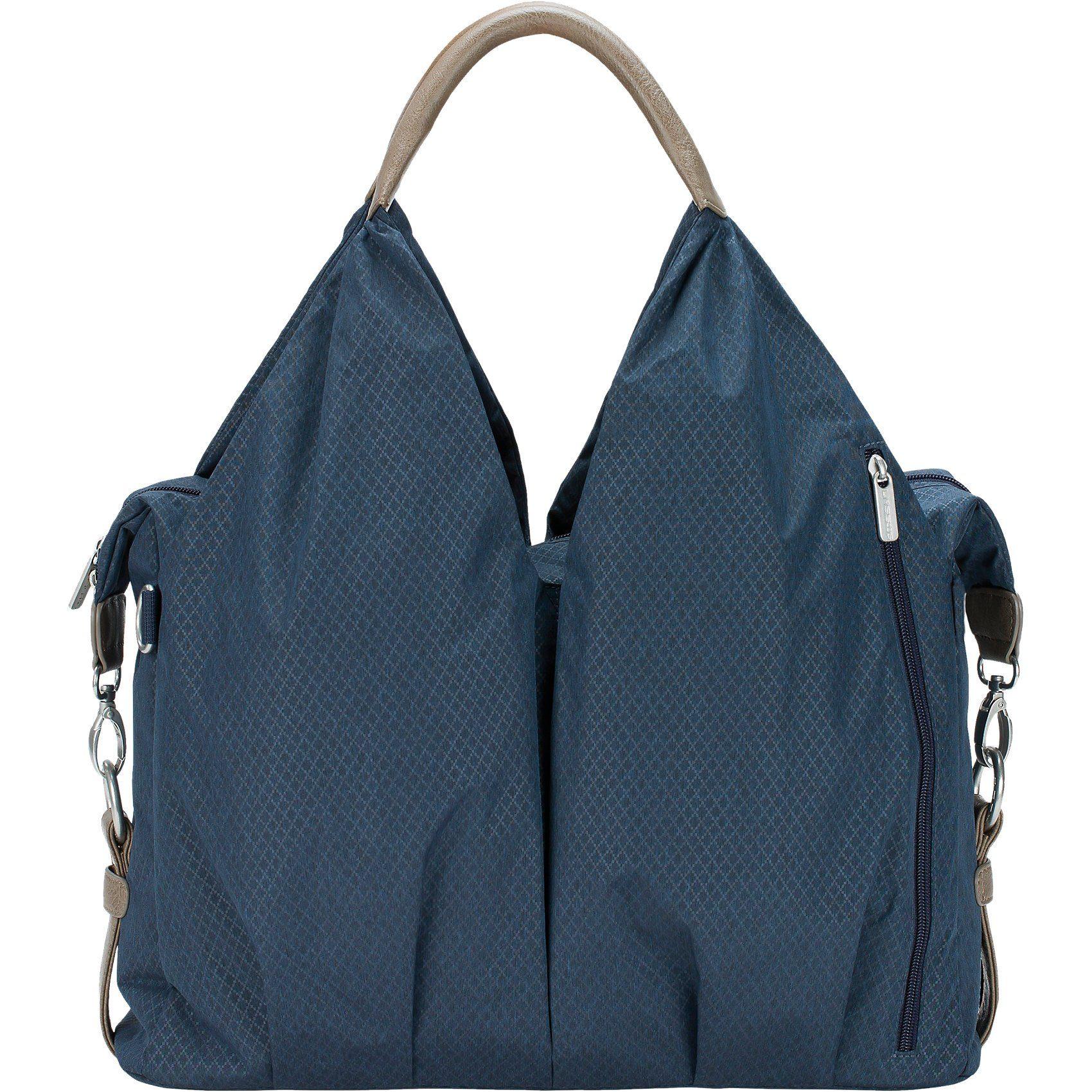 Lässig Wickeltasche Greenlabel, Neckline Bag Spin Dye, Blue Mélange