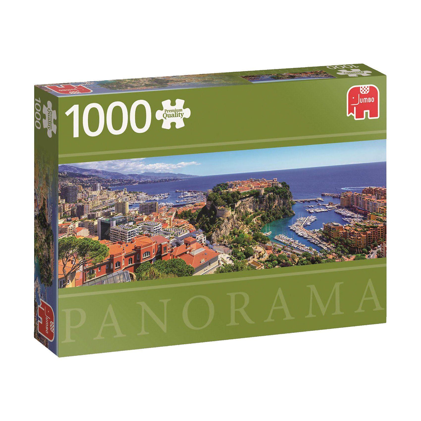 Jumbo Panorama Puzzle 1000 Teile - Monte Carlo, Monaco