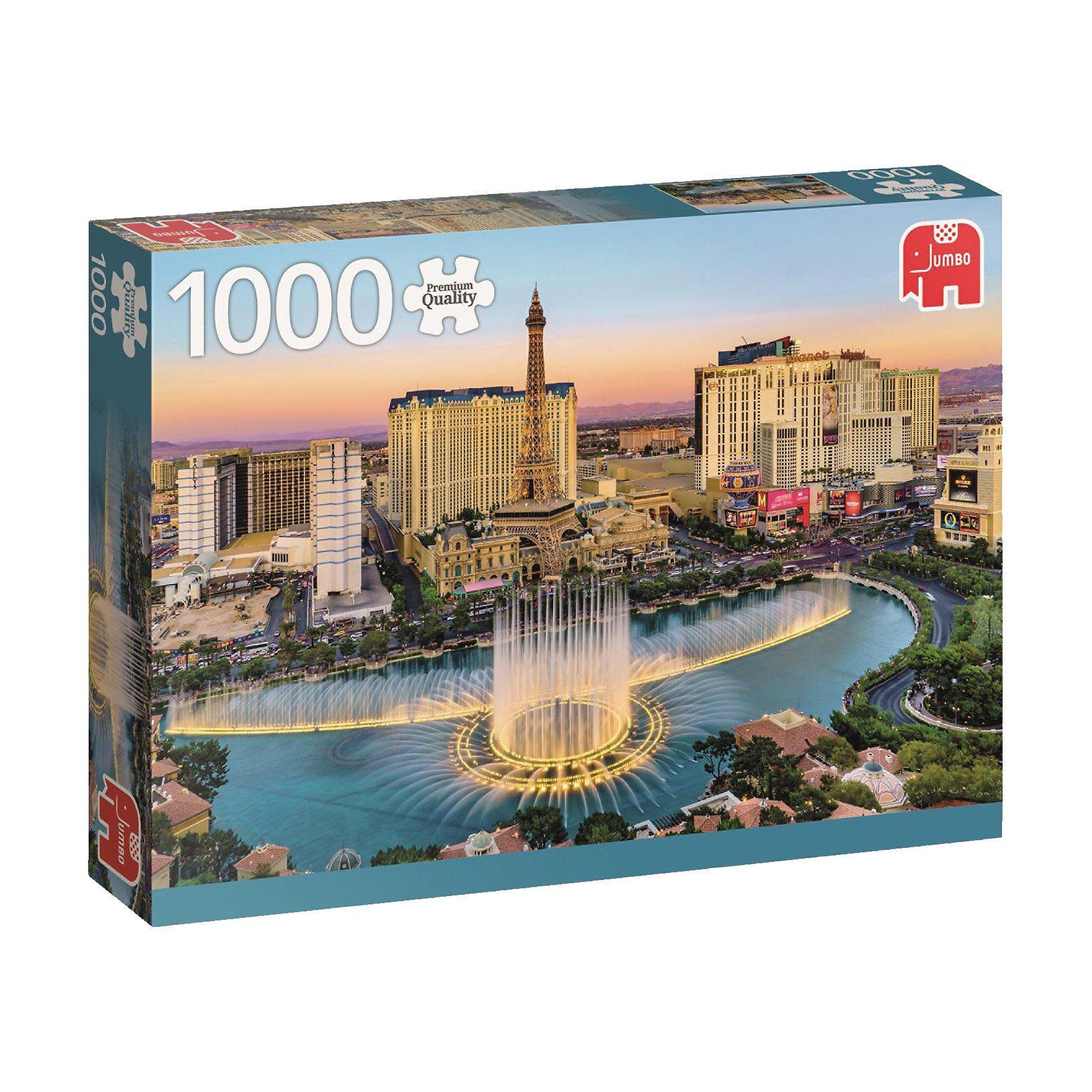 Jumbo Puzzle 1000 Teile - Las Vegas
