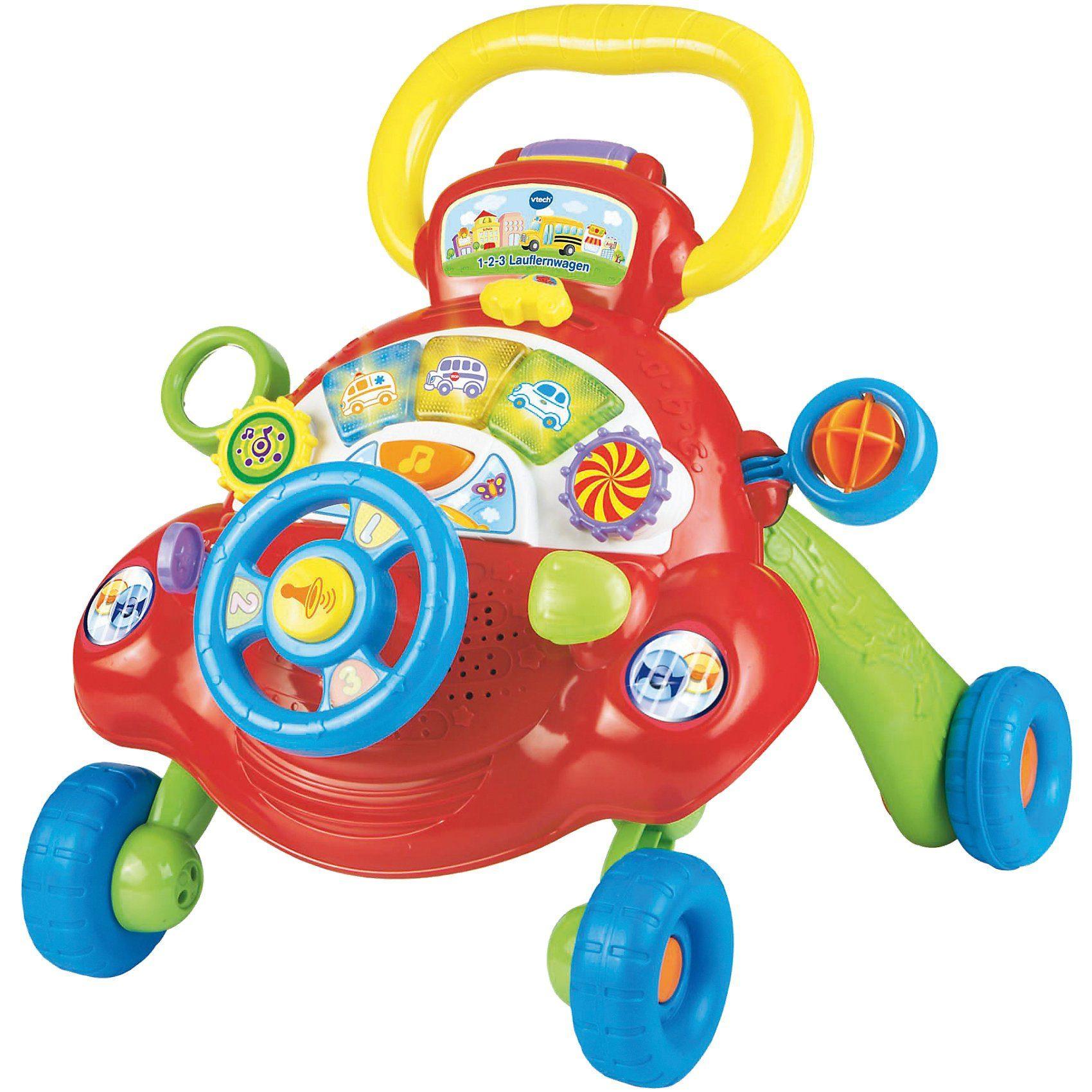 Vtech® 1-2-3 Lauflernwagen mit Spielboard