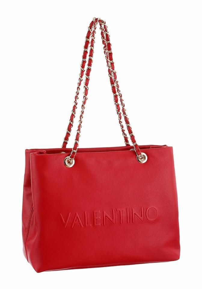 valentino handbags schultertasche mit gro en markenschriftzug online kaufen otto. Black Bedroom Furniture Sets. Home Design Ideas