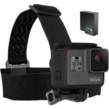 GoPro HERO5 Black 4K (Ultra-HD) Actioncam Set