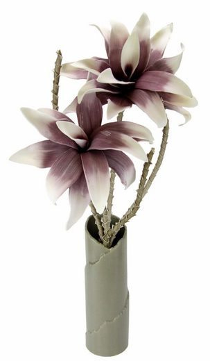 Kunstpflanze »Soft-Magnolie in Vase«