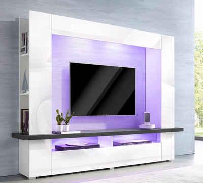 tv-wand online kaufen » tv-schrank & mediawand | otto - Fernseher Im Schrank