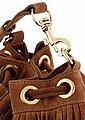 Replay Beuteltasche, aus Veloursleder auch als Rucksack tragbar, Bild 5