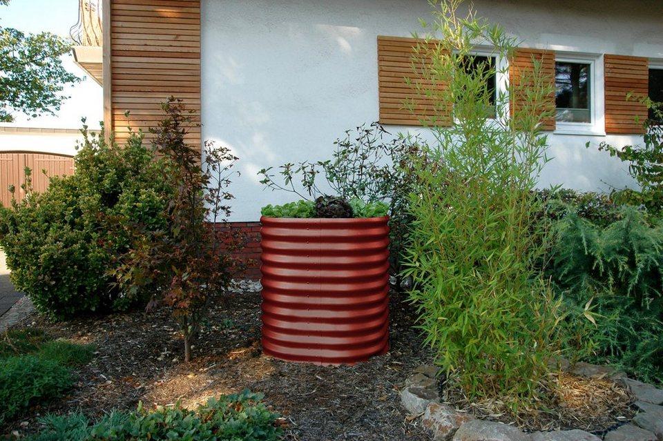 vitavia hochbeet rund b t h 82 82 86 cm rubinrot online kaufen otto. Black Bedroom Furniture Sets. Home Design Ideas
