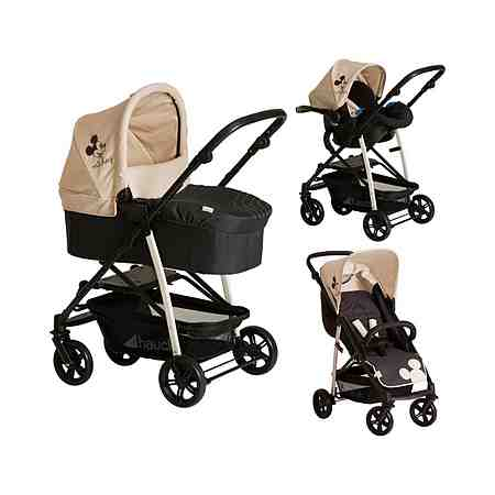 Hauck Rapid 4 Plus Shopper Trio-Set mit Einhand-Faltmechanismus...