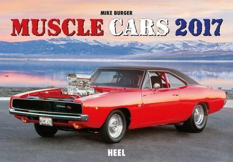Kalender »Muscle Cars 2017«