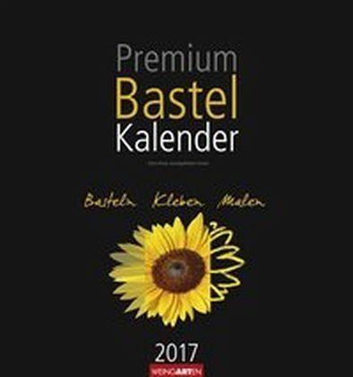 Kalender »Bastelkalender schwarz 2017«