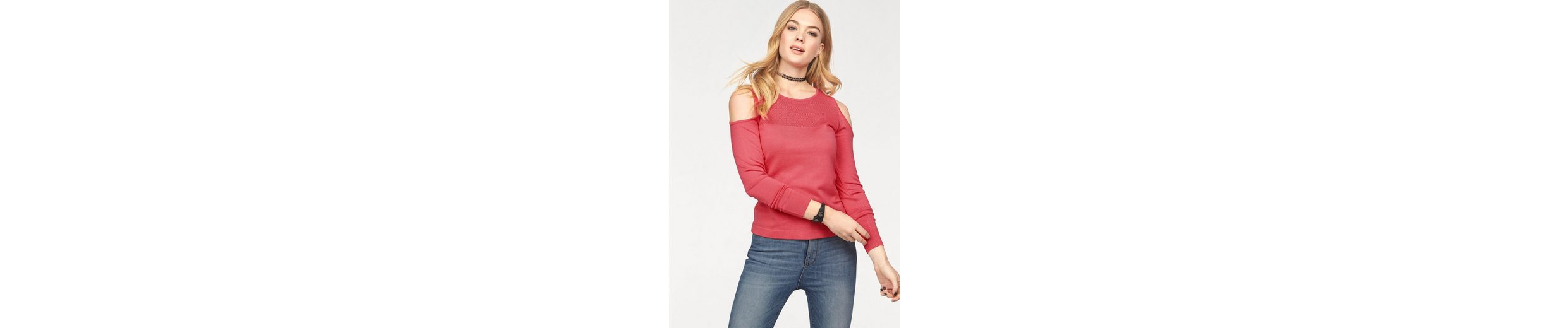 Only Strickpullover PROMISE, mit Cut Out an den Schultern