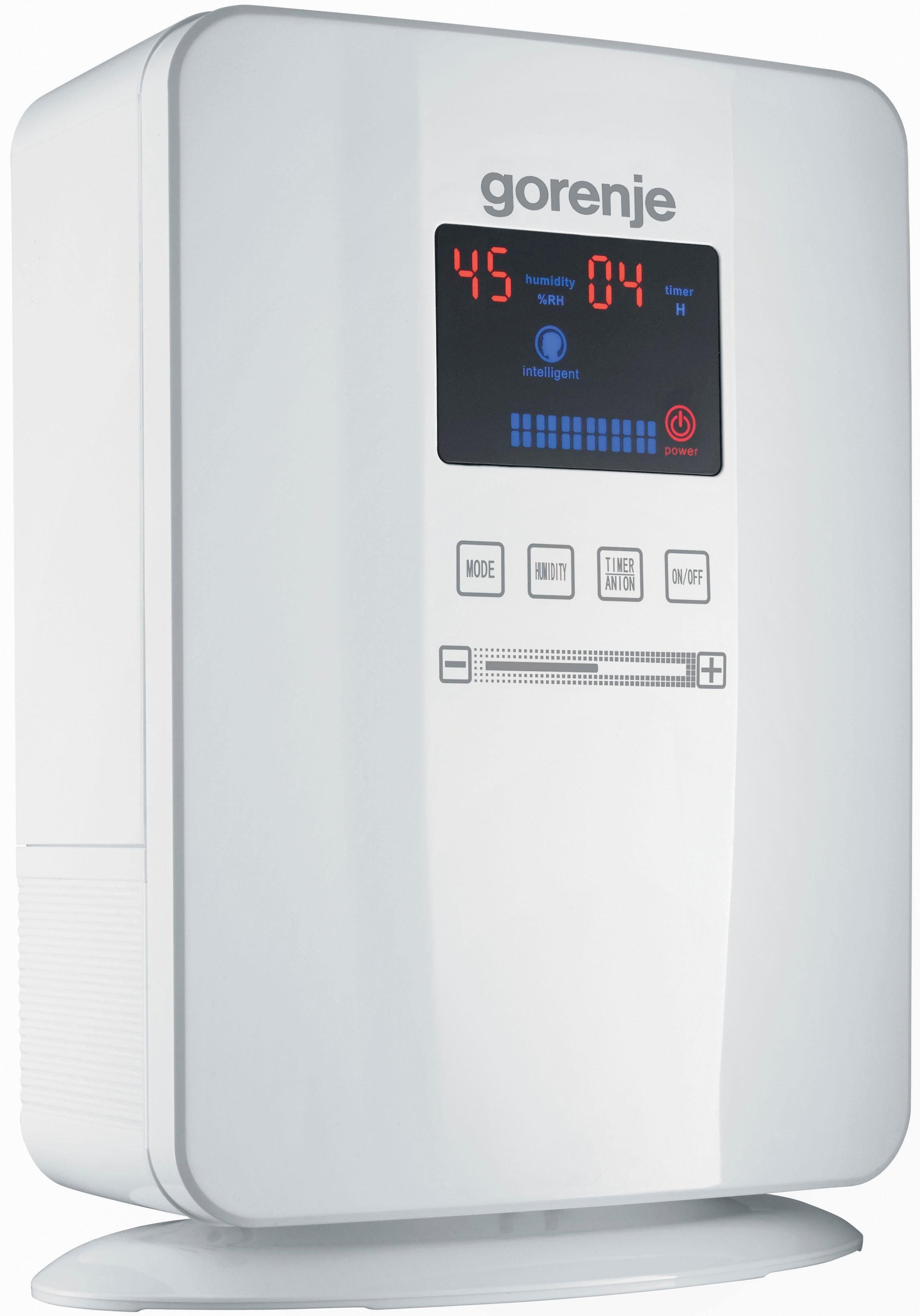 GORENJE Kombigerät Luftbefeuchter und -reiniger H50DW Ultra Sonic, 5 l Wassertank