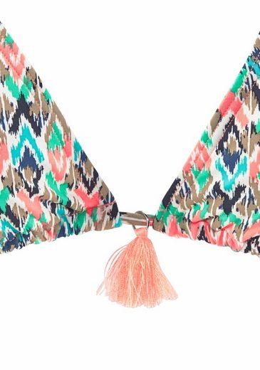 Venice Beach Triangel-Bikini mit modischen Quasten