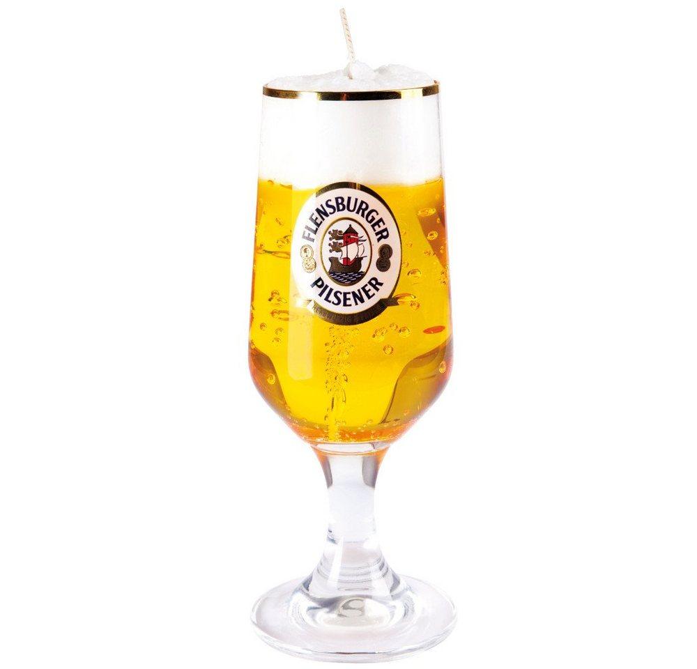 Bierkerze »Flensburger«