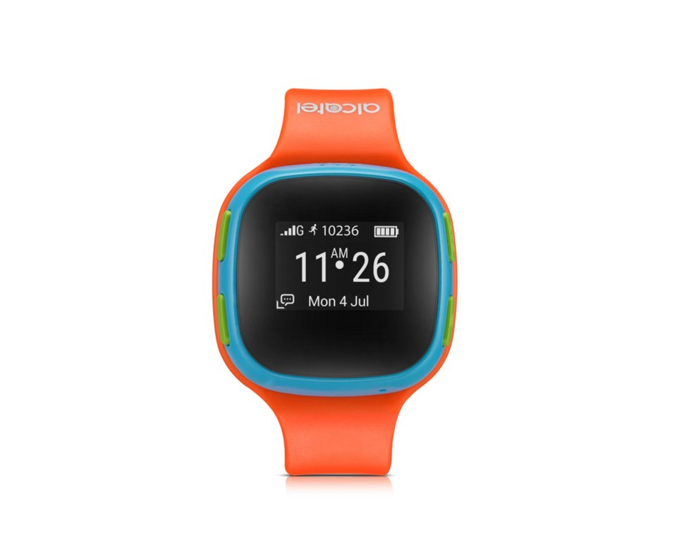 Alcatel Smartwatch »MOVE TIME Kids Watch SW10« in Orange-Blau