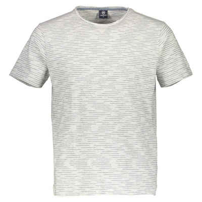LERROS T-Shirt mit gewebtem Ringel Sale Angebote Koppatz