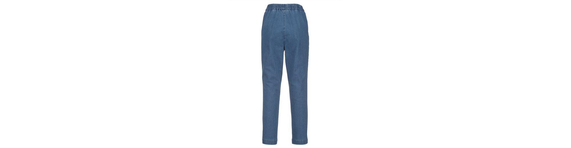MIAMODA Capri-Jeans in komfortabler Schlupfform Verkauf Für Billig Billige Versorgung Vorbestellung Für Verkauf Zahlen Mit Paypal Günstigem Preis EGyQUte