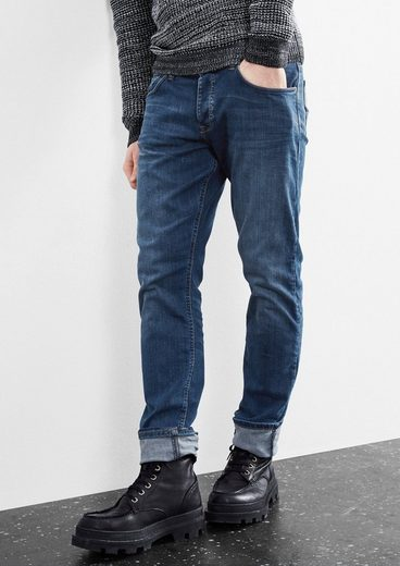 Q/S designed by Pete Regular: Used-Jeans