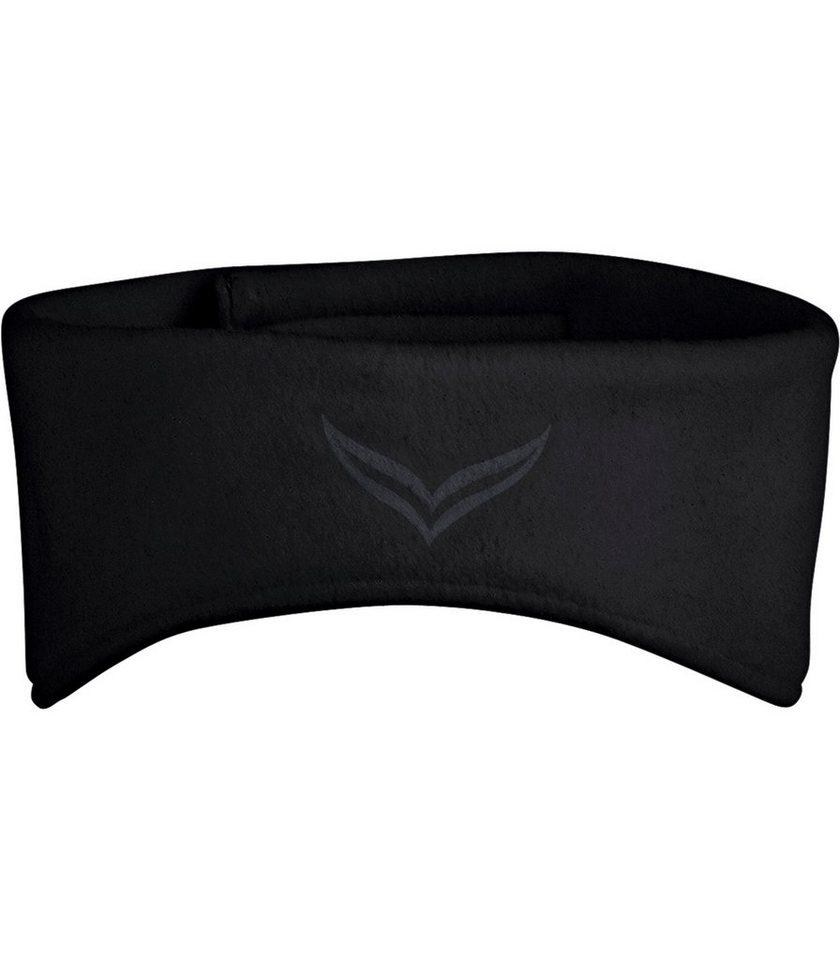 TRIGEMA Fleece Stirnband in schwarz