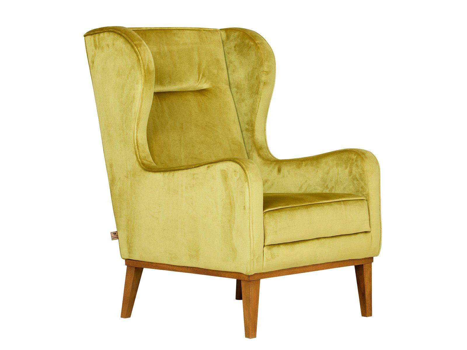 massivum Sessel aus Flachgewebe »Asaka«