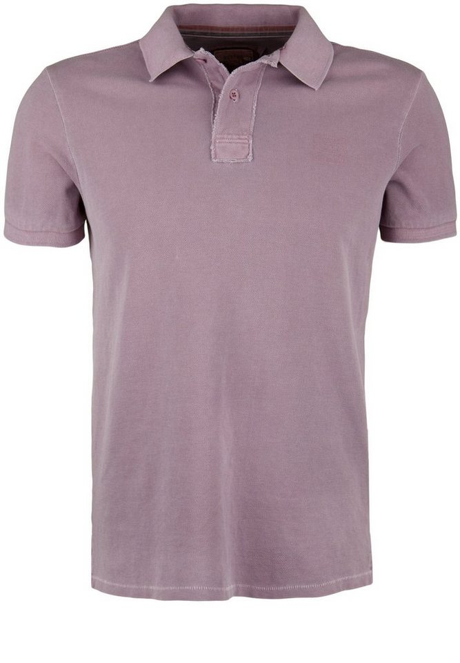 Better Rich Poloshirt »POLO PIQUE PIGMENT« in port