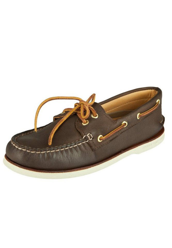 SPERRY Bootsschuhe »AUTHENTIC ORIGINAL 2-EYE GOLD« in brown