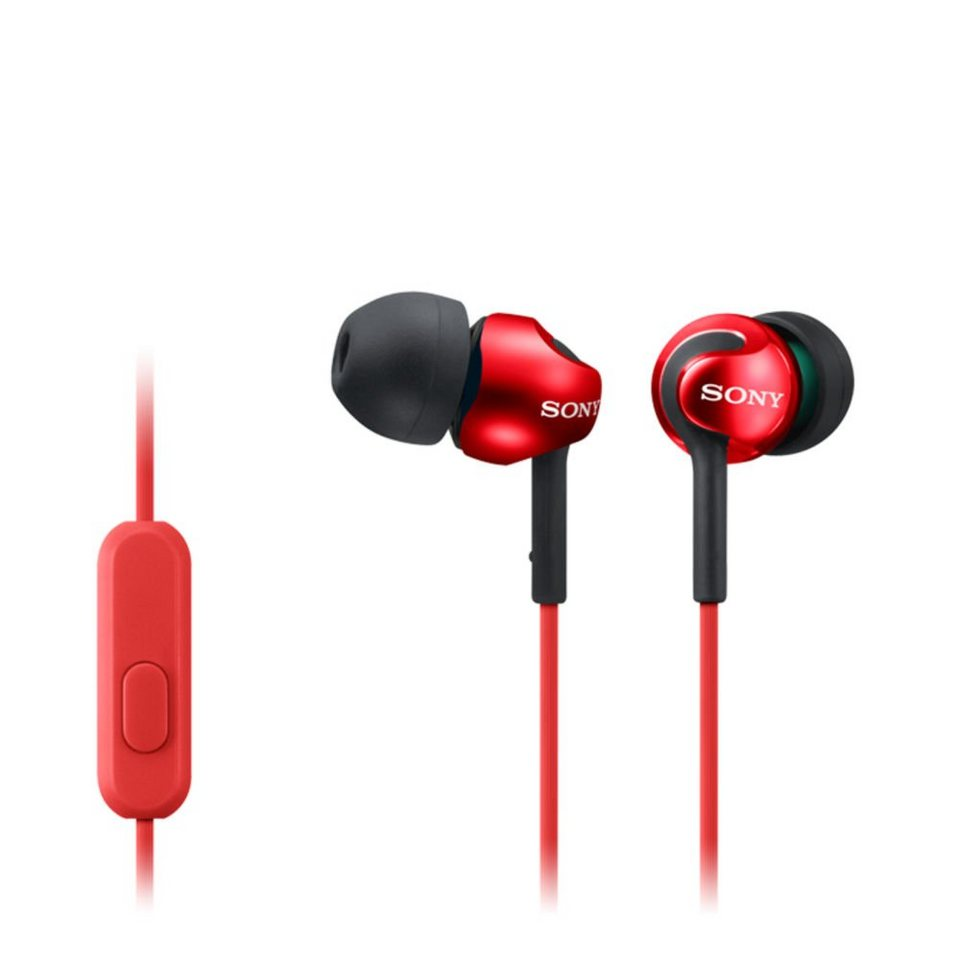 Sony InEar Kopfhörer »MDR-EX110AP« in rot