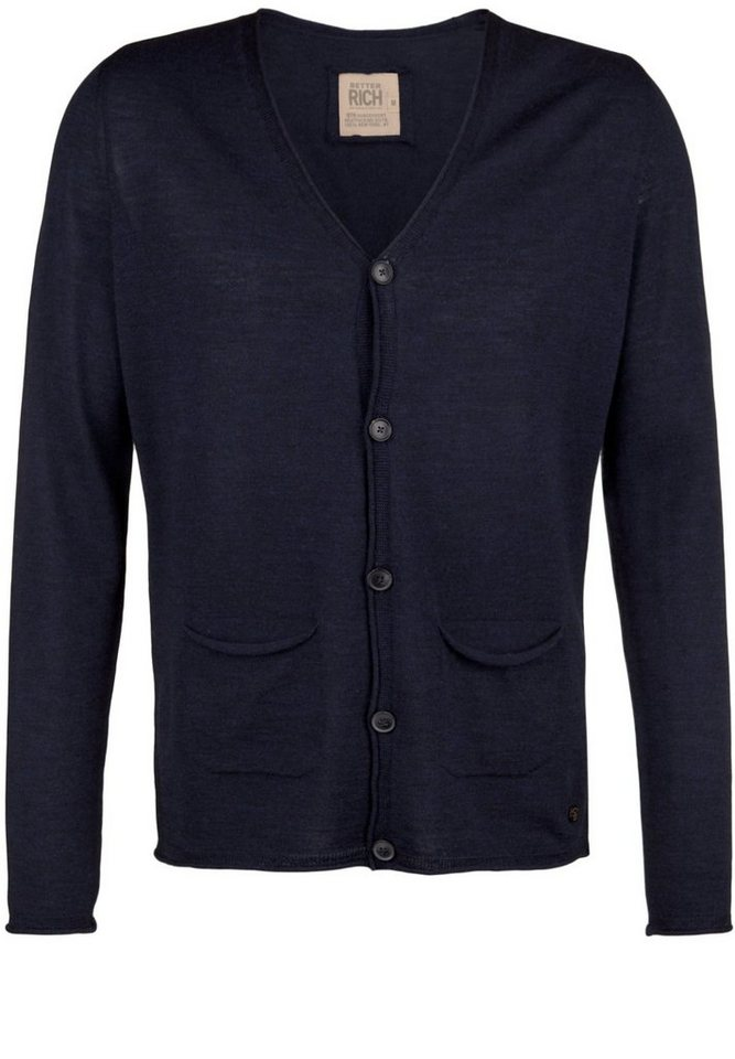 Better Rich Strickjacke »CARDIGAN« in parisian blue