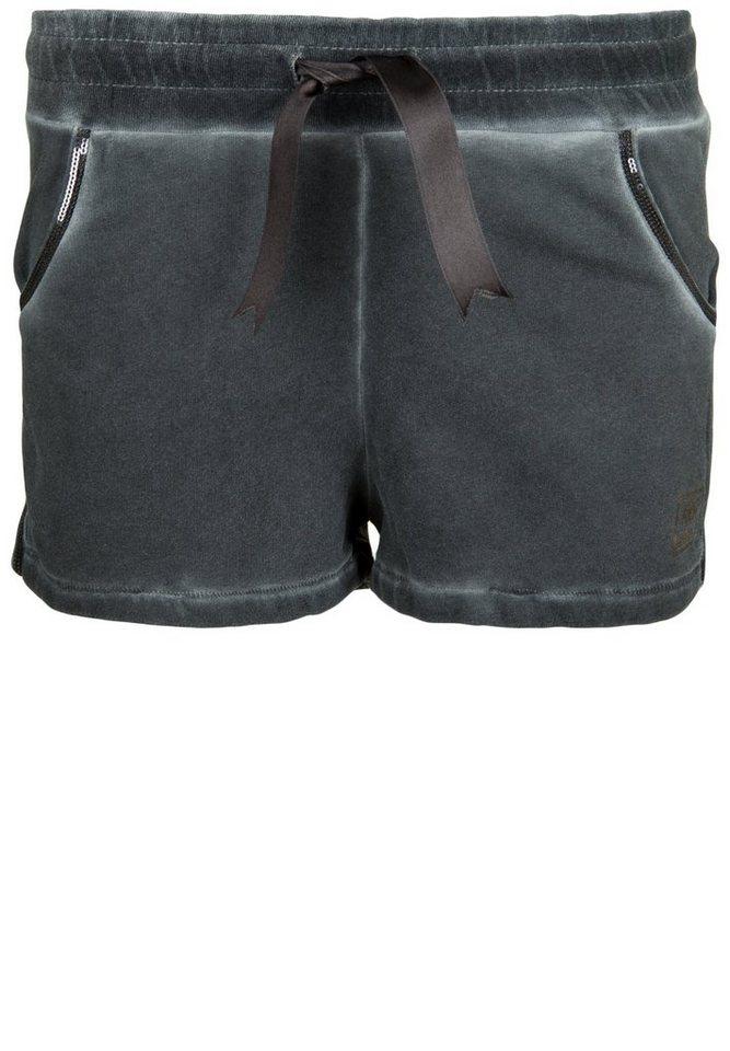 Better Rich Shorts »PAILLETTE VELVET« in new black
