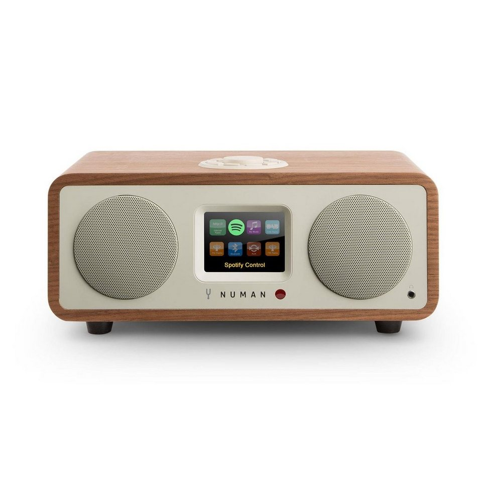 numan design internet radio bluetooth spotify wlan dab ukw mp3 aux 20w one 2 1 online kaufen. Black Bedroom Furniture Sets. Home Design Ideas