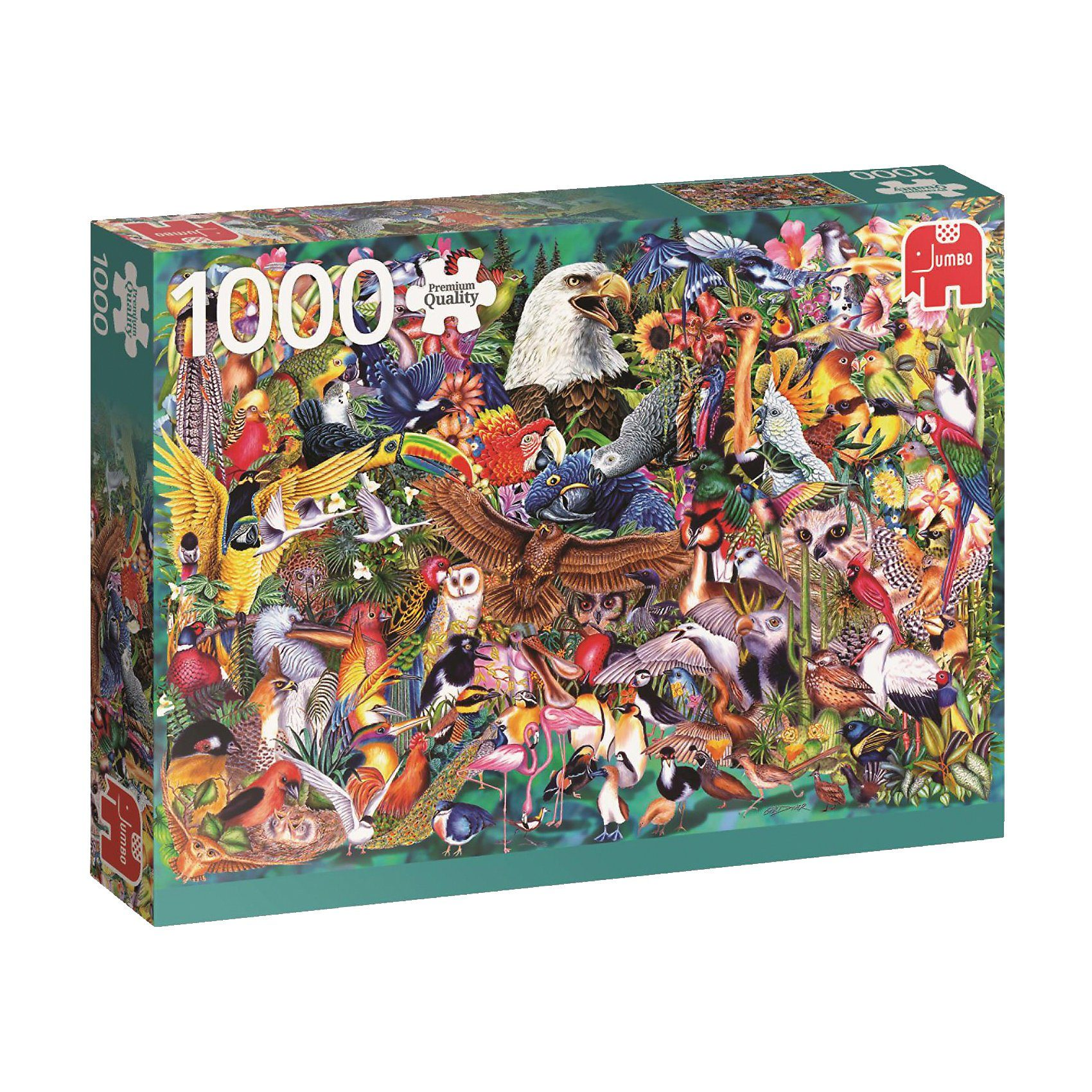 Jumbo Puzzle 1000 Teile - Animal Kingdom