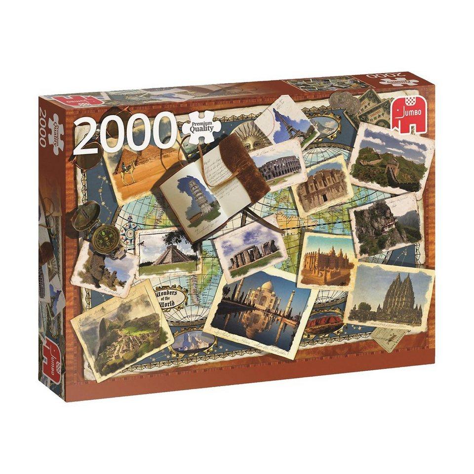 Jumbo Puzzle 2000 Teile - Wonders of the World