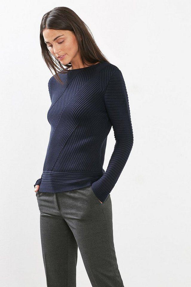 esprit collection struktur sweater aus baumwoll mix online. Black Bedroom Furniture Sets. Home Design Ideas