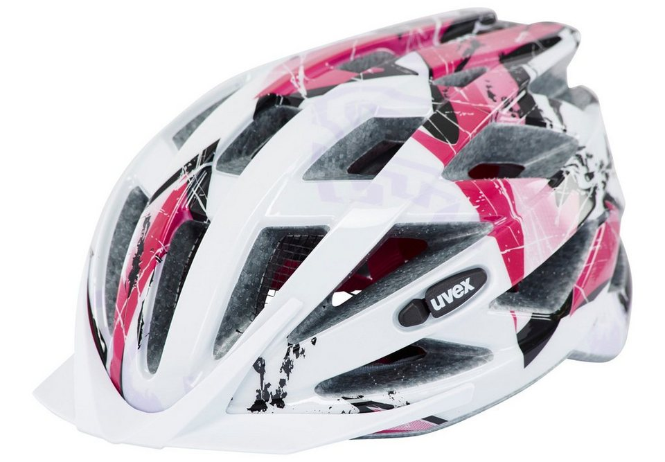 Uvex Fahrradhelm »air wing Helmet Junior« in weiß