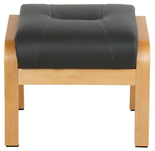 Home affaire Relaxsessel »Avignon«  kippbar mit Hocker  Holzgestell